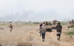 الصورة: تحرير مواقع استراتيجية في مأرب.. وتدمير «زورق مفخخ» بالحديدة