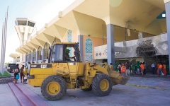 الصورة: عودة الملاحة إلى مطار عدن اليوم