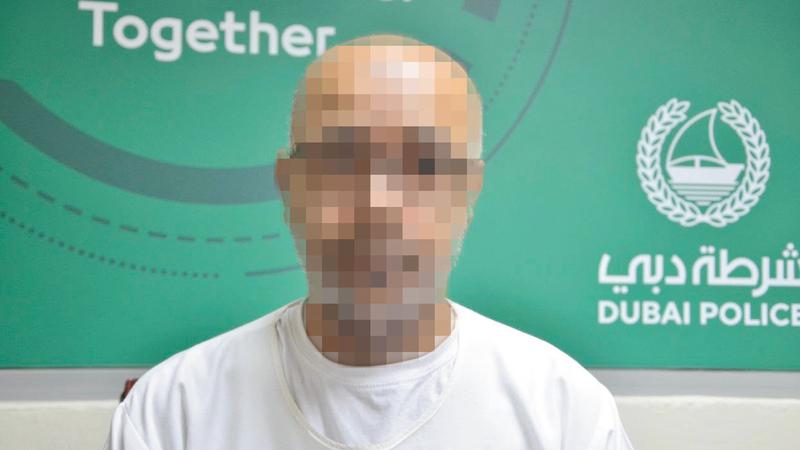 السجين «أبوعلي». من المصدر
