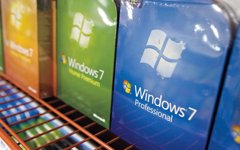 الصورة: 100 مليون حاسب لاتزال تعمل بـ «ويندوز 7»