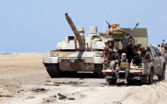 الصورة: اشتداد المعارك في جبهات مأرب.. ومقتل وإصابة 54 حوثياً