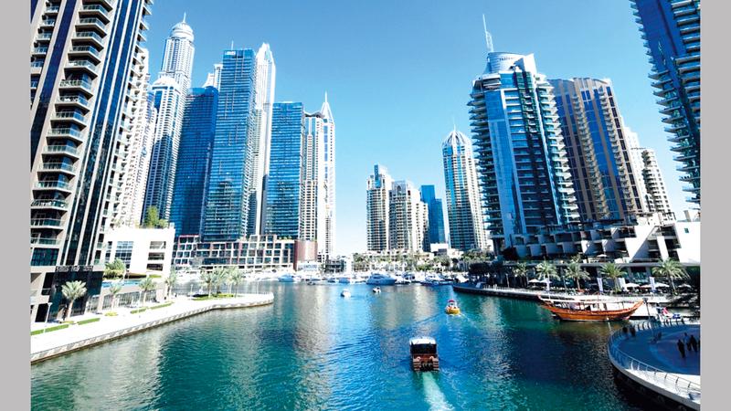 القانون الجديد يقدم عدداً من المزايا للمستأجرين والمُلاك في دبي.أرشيفية