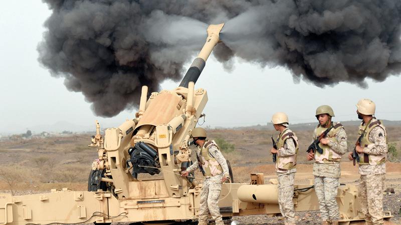 قوات التحالف العربي حققت في 2020 نجاحات على أكثر من جبهة يمنية. غيتي