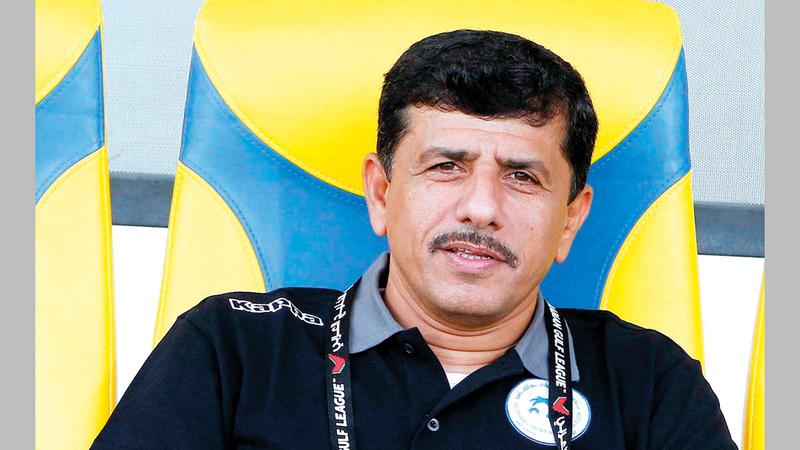 عبدالله مسفر:  «أتمنّى أن يتضمن المعسكر الحالي في دبي خوض المنتخب مباراتين وديتين بدلاً من واحدة فقط».