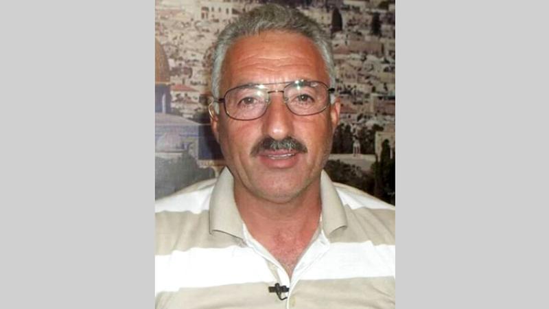 رئيس لجنة الدفاع عن أهالي سلوان فخري أبودياب.        أرشيفية