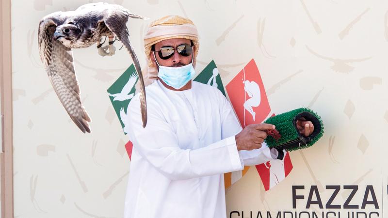 عبدالله خلفان القبيسي توّج بشوط «بيور جير جرناس الرمز». من المصدر