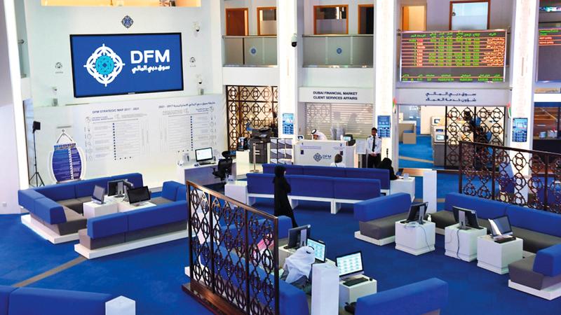 القيمة السوقية لأسهم دبي سجلت 354.78 مليار درهم. أرشيفية