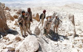 الصورة: القوات اليمنية تحرّر مناطق عدة  في جبهات  شمال الضالع