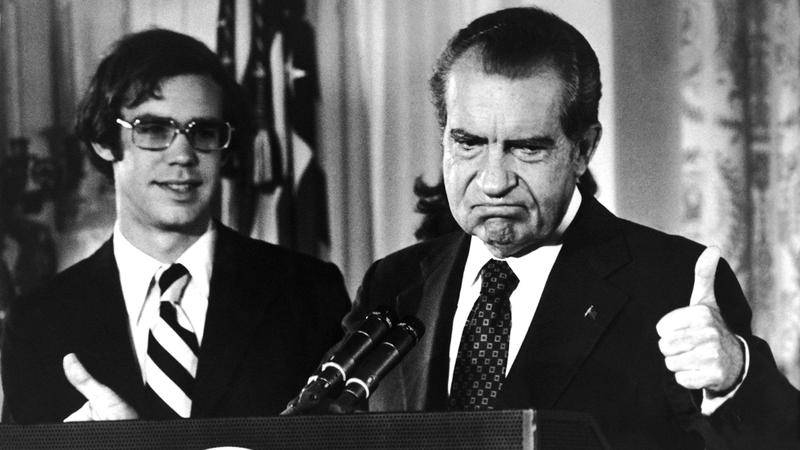 ريتشارد نيكسون استقال من البيت الأبيض. أرشيفية