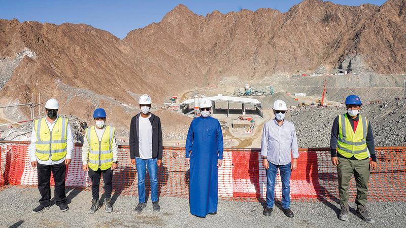 محطة الطاقة الكهرومائية في «حتا» الأولى من نوعها في الخليج العربي.  من المصدر