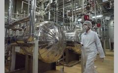 الصورة: إيران تزيد تخصيب اليورانيوم لتعزيز قوتها التفاوضية مع إدارة بايدن