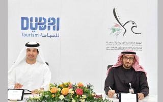 الصورة: «دبي للسياحة» و«إقامة دبي» تتعاونان في إصدار «التصاريح» لفئات محددة