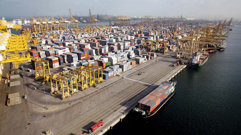 سبتمبر 2020 شهد أعلى قيمة للتجارة بقيمة بلغت 142 ملياراً و488 مليون درهم. أرشيفية