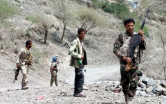 الصورة: «الشرعية» تواصل التقدم في مأرب.. وإفشال هجوم «حوثي» بالضالع