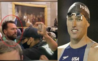 الصورة: بالفيديو.. بطل أولمبي أميركي متهم بالمشاركة في اقتحام الكونغرس