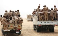 الصورة: الجيش اليمني يحرر «تبة علي منيف» جنوب مأرب
