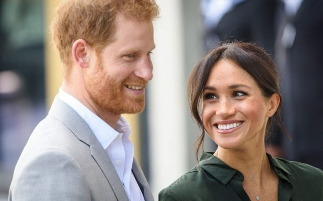الصورة: هاري وميغان سعيدان رغم انفصالهما عن العائلة المالكة
