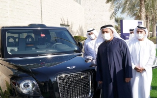 """الصورة: """"تاكسي لندن"""" في دبي الشهر المقبل"""