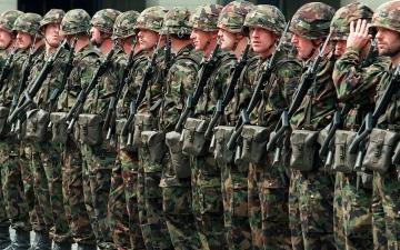 """الصورة: الخدمة العسكرية """"من المنزل"""" في سويسرا"""
