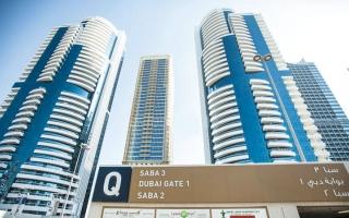 الصورة: قصــــة برج.. بوابة دبي.. توأم يتألق في منطقة «أبراج بحيرات جميرا»