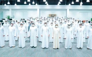 الصورة: محمد بن راشد: الإمارات حققت مكانة متقدمة في مجال الأمن والأمان إقليمياً وعالمياً
