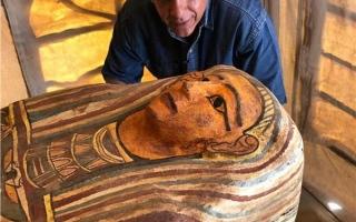 """الصورة: بالفيديو.. """"سقارة"""" المصرية تكشف كنزاً مهماً"""