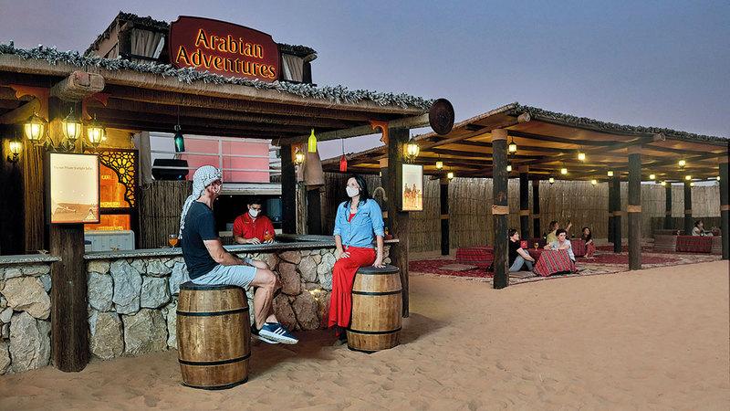 «سفاري دبي».. رحلات تتصدر اهتمام السياح الدوليين.   أرشيفية