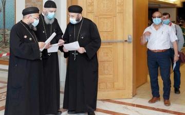 الصورة: جولات تطعيم ضد «كورونا» في دور العبادة لغير المسلمين بأبوظبي