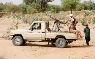 الصورة: 48 قتيلاً باشتباكات قبلية في دارفور بغرب السودان