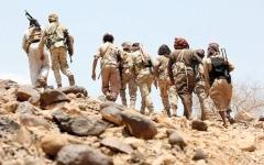 الصورة: الجيش اليمني يسقط مُسيّرة حوثية في صعدة.. والميليشيات تصعّد انتهاكاتها