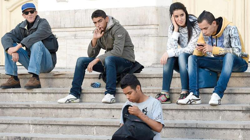 البطالة تثير غضب التونسيين.   أرشيفية