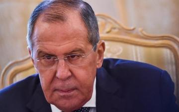"""الصورة: وزير خارجية روسيا يعلن إصابته بـ""""كورونا"""""""