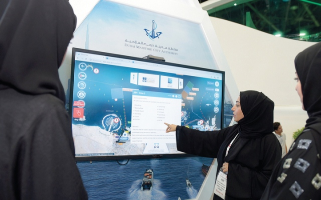 الصورة: اكتمال 80% من البنية التحتية للمنطقة التجارية في «دبي الملاحية»