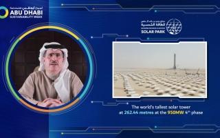 الصورة: الطاير: دبي حققت أدنى مدة انقطاع للكهرباء لكل مشترك سنوياً