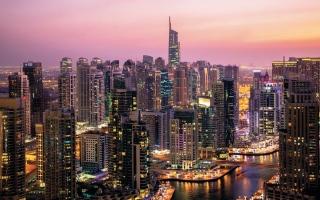 الصورة: إنجاز 3227 مبنى جديداً في دبي خلال 2020