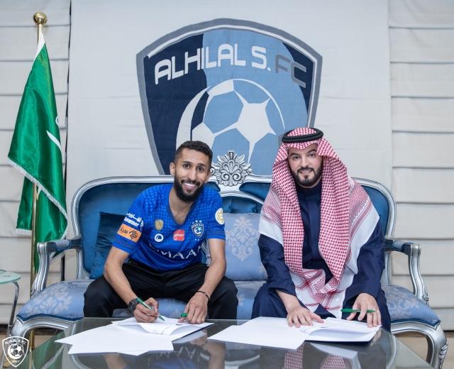 صورة الهلال السعودي يجدد عقد نجم الفريق براتب سنوي 10 ملايين ريال – رياضة – عربية ودولية