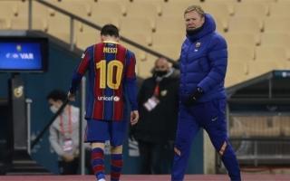 الصورة: كومان لا يعرف مستقبل ميسي مع برشلونة