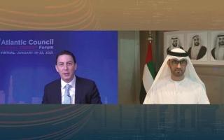 الصورة: الجابر: الإمارات وجهة أعمال آمنة وموثوقة ومثالية للمستثمرين