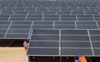 الصورة: المرر: 9 مليارات درهم استثمارات أبوظبي  في الطاقة المتجدّدة