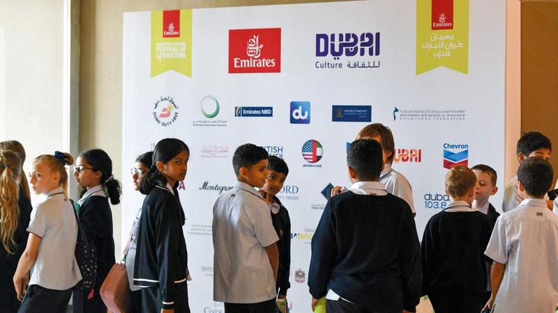محور «إضاءات على المواهب الإماراتية» مُقدّم من هيئة الثقافة والفنون.   من المصدر