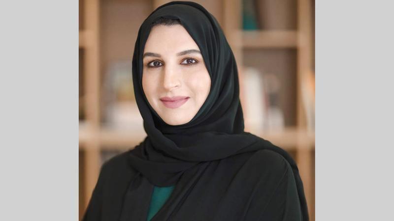 هالة بدري تعمل من خلال منصبها على تطوير منظومة إبداعية متكاملة في دبي.   من المصدر