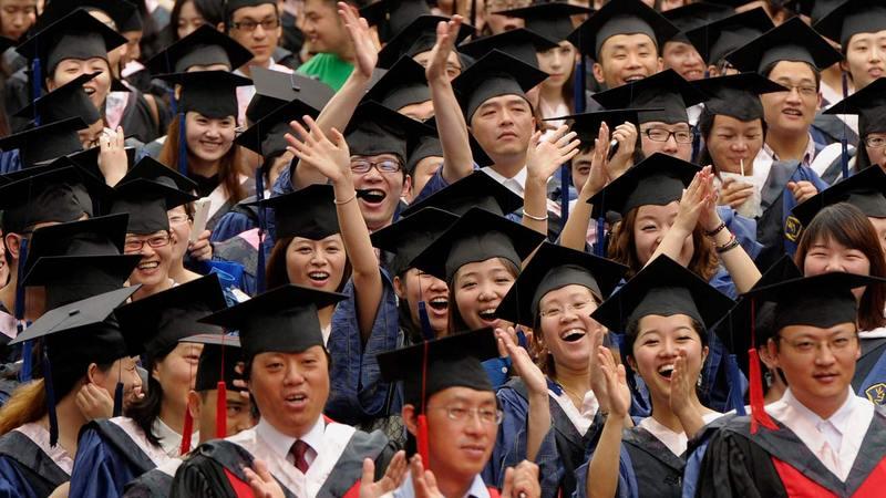 أعداد الخريجين لا تتوافق مع فرص العمل في الصين.  أرشيفية
