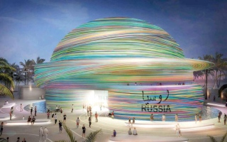 الصورة: «الإمارات لأنظمة المباني» تقترب من إنجاز 4 أجنحة في «إكسبو 2020 دبي»