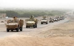الصورة: الجيش اليمني يقترب من أسوار «حزم» الجوف