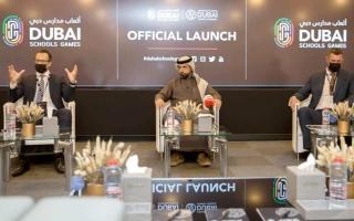 الصورة: إطلاق «ألعاب مدارس دبي» الأولى من نوعها في 14 لعبة