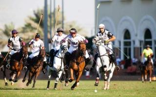 الصورة: ميثاء بنت محمد تقود فريق الإمارات في افتتاح بطولة «إيفزا» للبولو اليوم