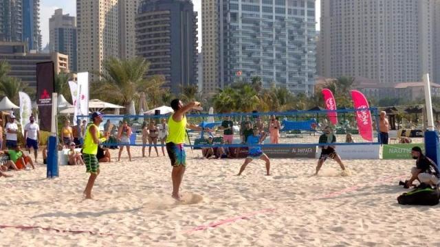 صورة أكثر من 100 لاعب ولاعبة في «تنس دبي الشاطئية» – رياضة – محلية