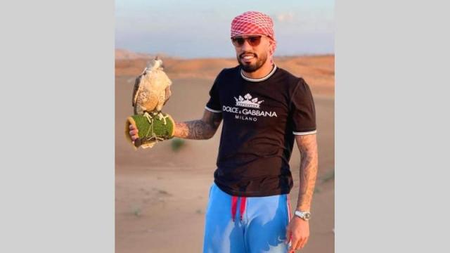 صورة جوناثاس يستكشف رياضة صيد الصقور – رياضة – محلية