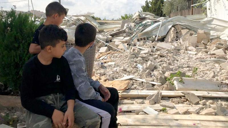 الاحتلال شرّد مئات الفلسطينيين خلال عام 2020.  أرشيفية