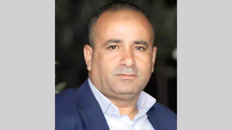 مسؤول ملف الأغوار في محافظة طوباس معتز بشارات.  من المصدر